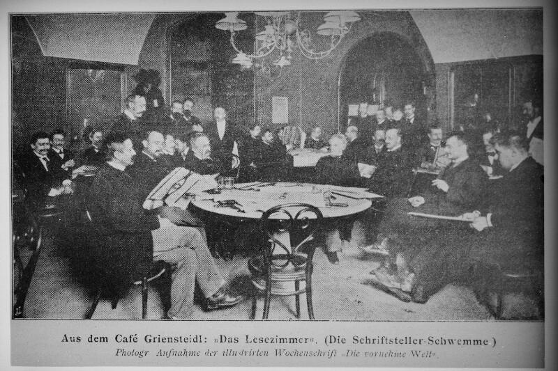 Wien 1, Café Griensteidl