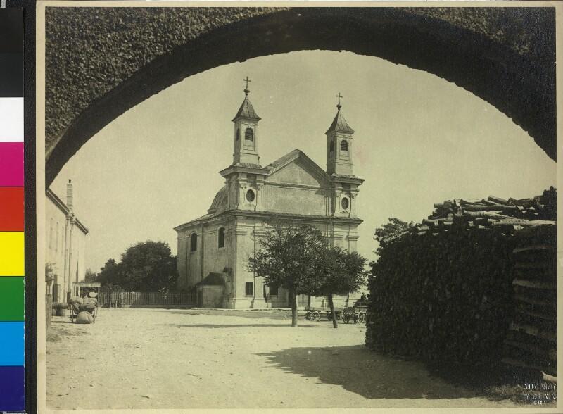 Wien 19, Leopoldskirche am Leopoldsberg