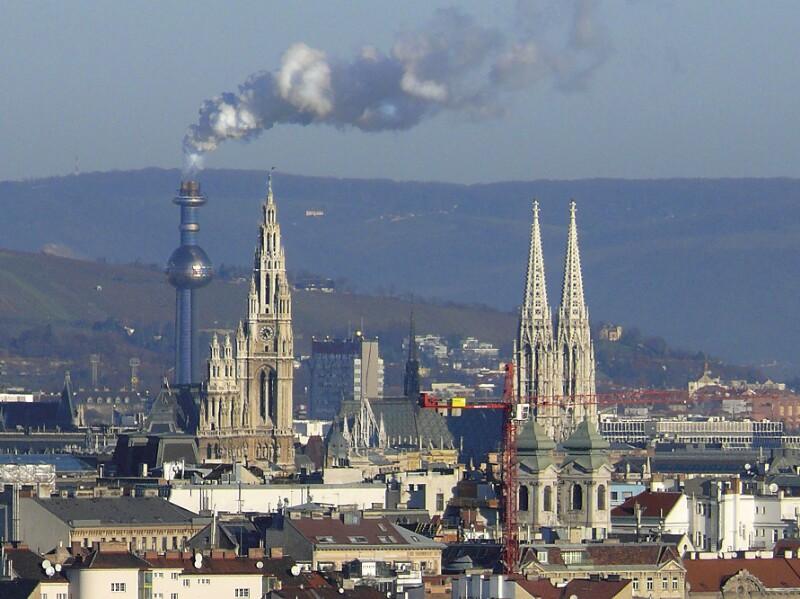 Wien 9, Fernwärmewerk Spittelau