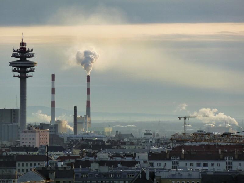 Funkturm Arsenal, Kraftwerk Simmering