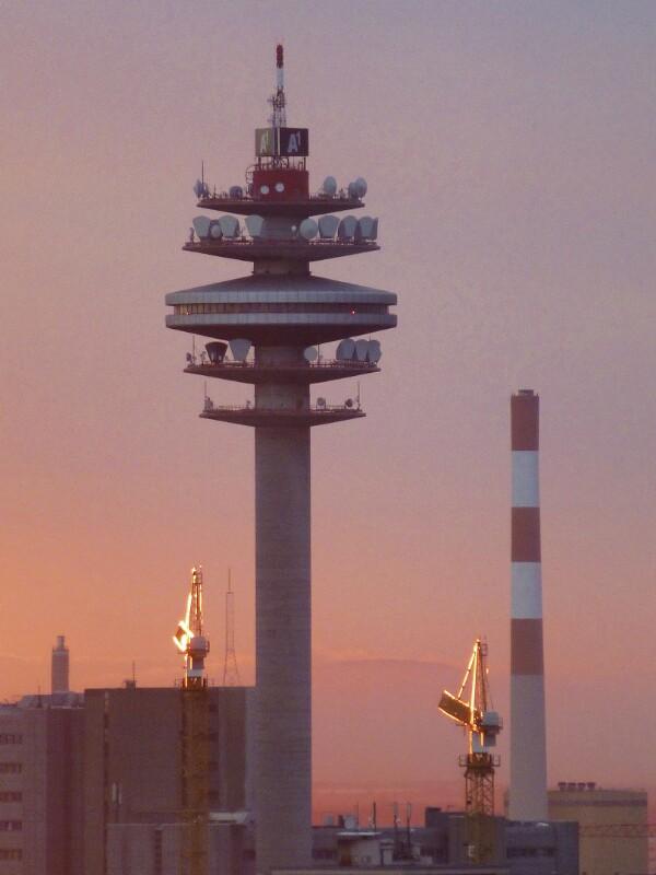 Wien 3, Funkturm im Arsenal
