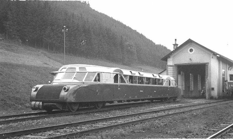 Schienenautobus (Austro-Daimler) der Österreichischen Bundesbahnen