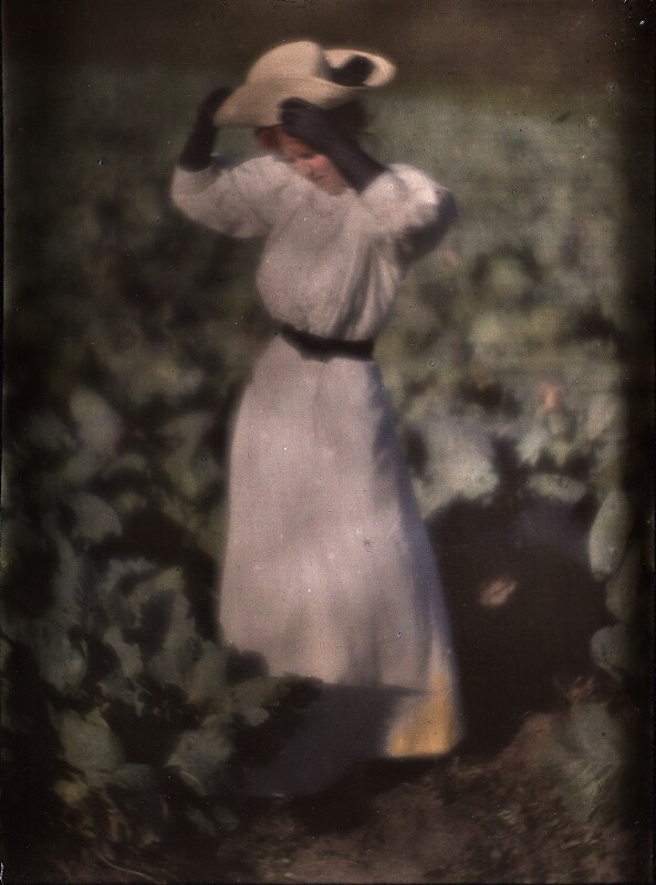Miss Mary im Garten