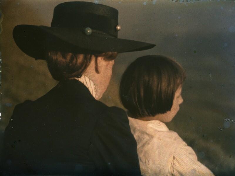 Mary Warner und Hans Kühn