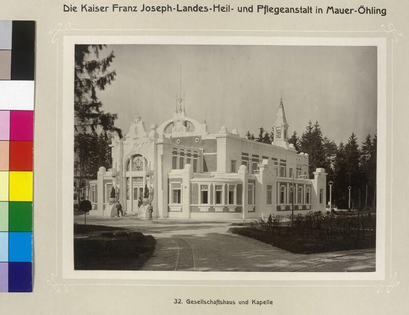 Mauer-Öhling, Kaiser Franz Joseph-Landes-Heil- und Pflegeanstalt