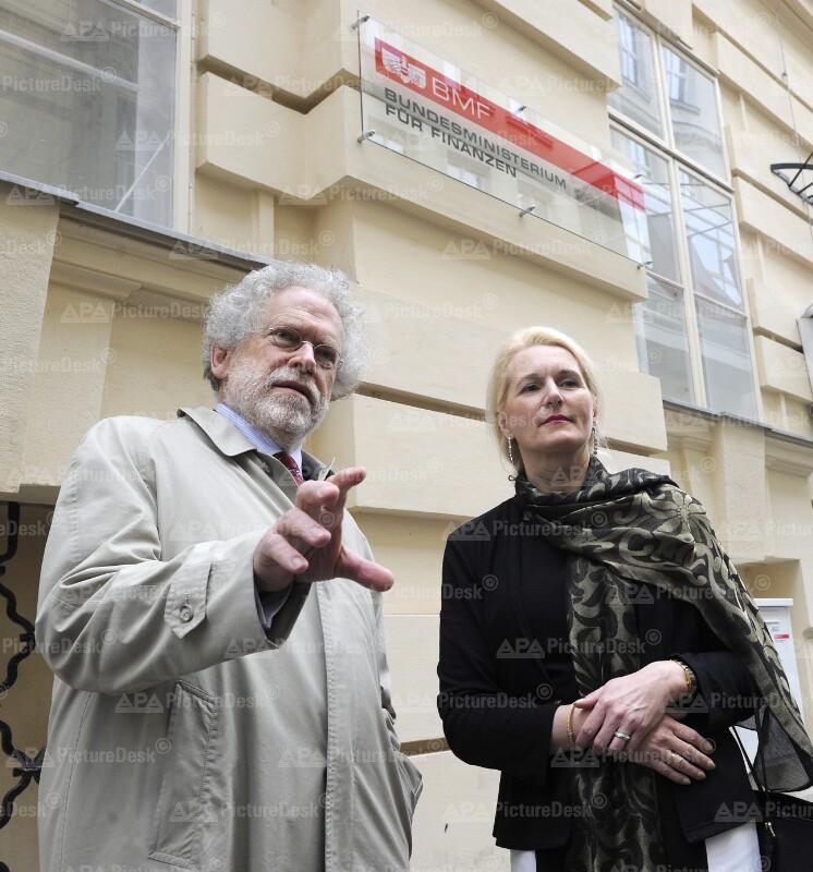 Anton Zeilinger und Pascale Ehrenfreund