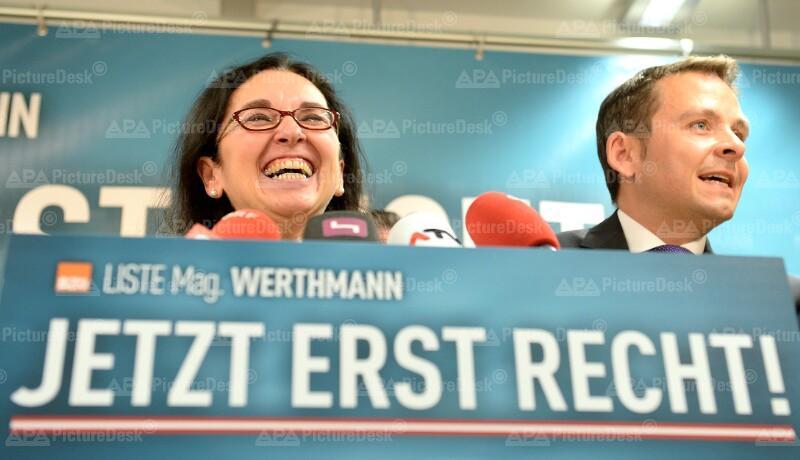 Angelika Werthmann und Gerald Grosz