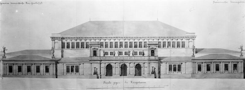 Wien 1, Alte Börse (1869-1877)