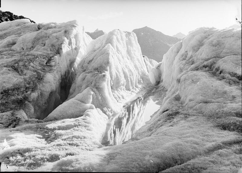 Eisbruch am Gepatschferner