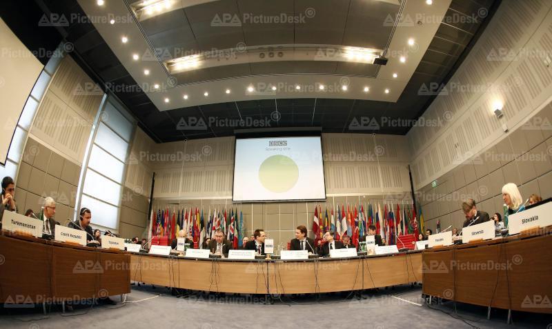 Außenminister Kurz vor dem Ständigen Rat der OSZE