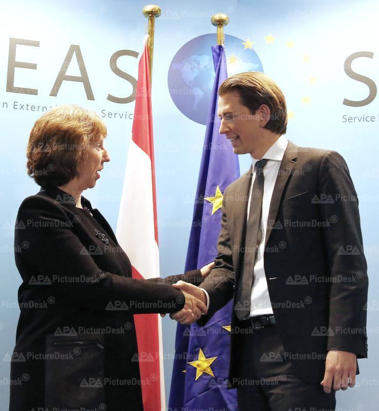 Außenminister Kurz in Brüssel