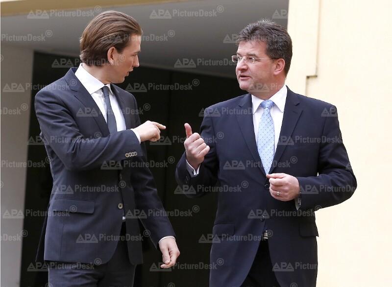 Außenminister Kurz in der Slowakei