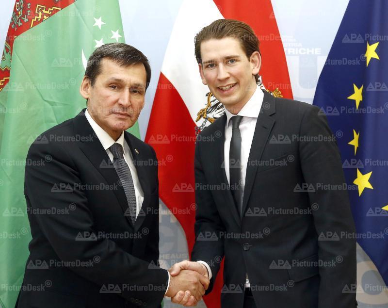 Außenminister Kurz empfängt turkmenischen Amtskollegen Meredowin
