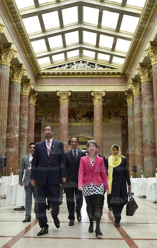 Afghanistans Parlamentssprecher in Wien