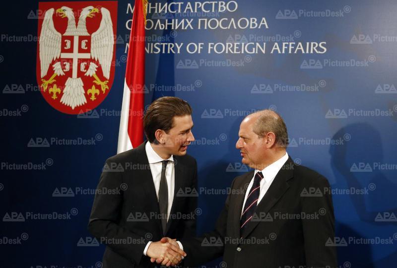 Außenminister Kurz in Serbien