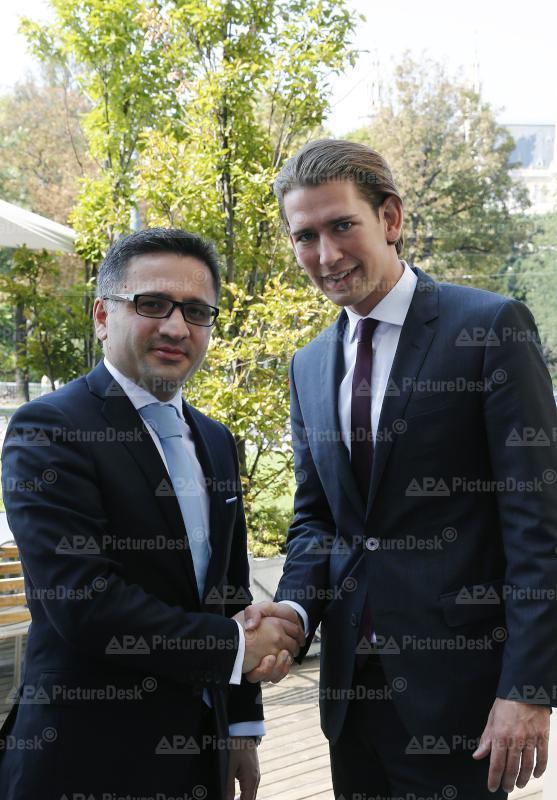Außenminister Kurz trifft mazedonischen Vizeministerpräsidenten