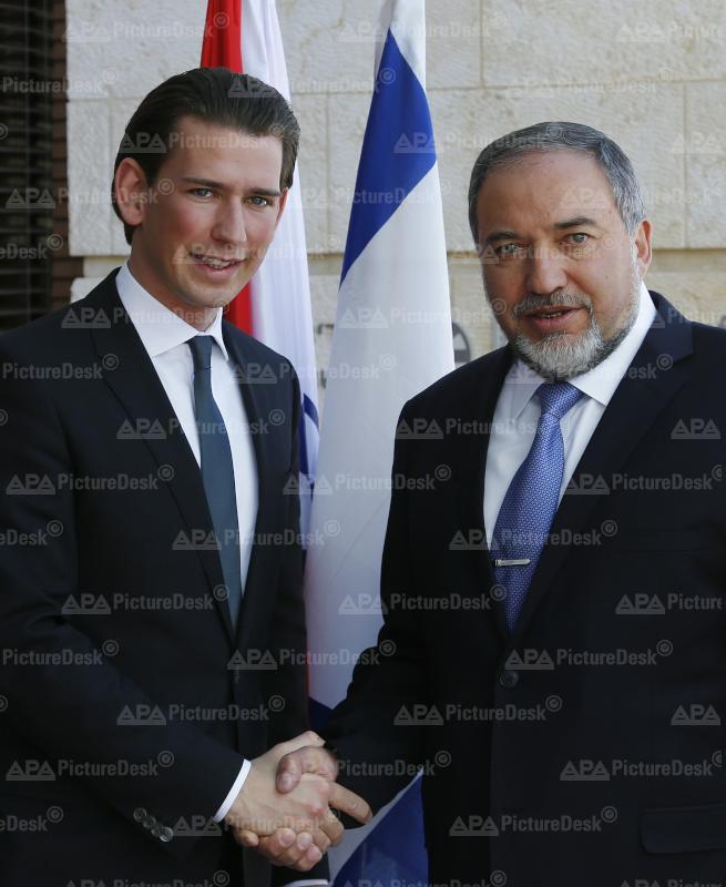 Außenminister Kurz in Israel
