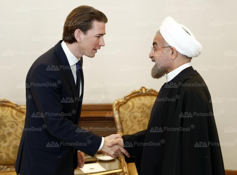Außenminister Kurz im Iran