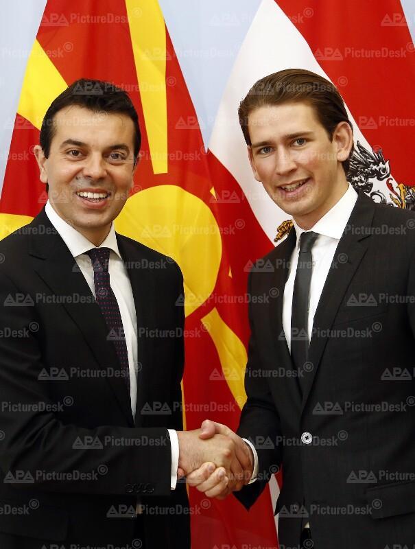 Außenminister Kurz trifft mazedonischen Amtskollegen Poposki