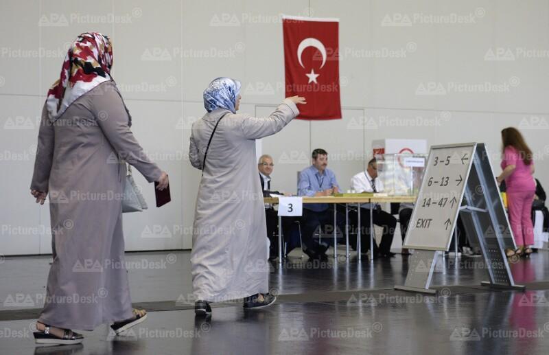 Stimmabgabe in Österreich für die türkische Präsidentenwahl