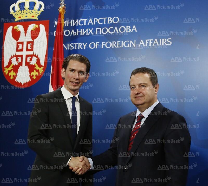 Außenminister Kurz trifft serbischen Amtskollegen Dacic
