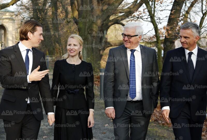 Außenminister Kurz in Deutschland