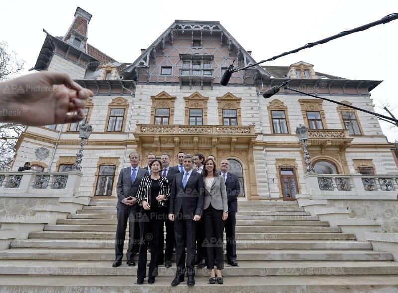 ARBEITSKLAUSUR DES ÖVP-REGIERUNGSTEAMS