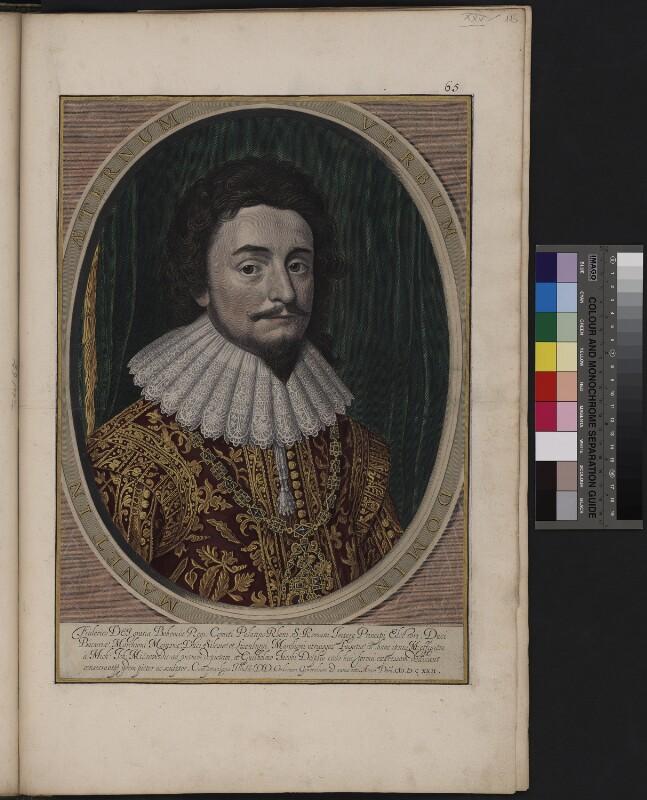 Porträt des Friedrich V. Pfalzgraf von Rhein, König von Böhmen