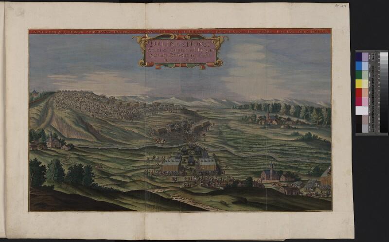 Illustration I der Schlacht am Weißen Berg bei Prag 1620
