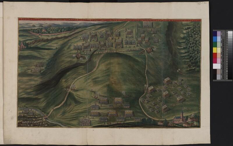 Illustration II der Schlacht am Weißen Berg bei Prag 1620