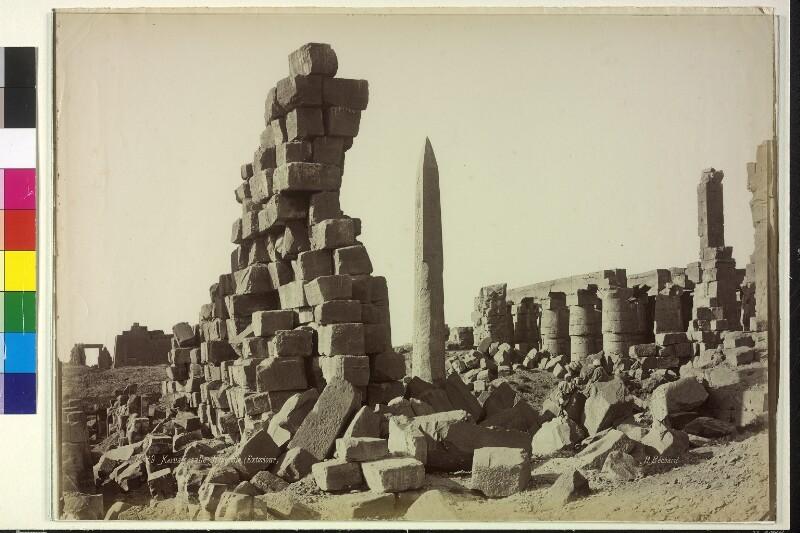 Säulenhalle in Karnak, Ägypten