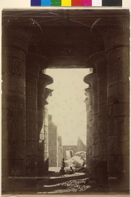 Ramesseum in Theben bei Luxor, Ägypten