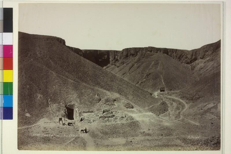 Grabstätte im Tal der Könige, Ägypten
