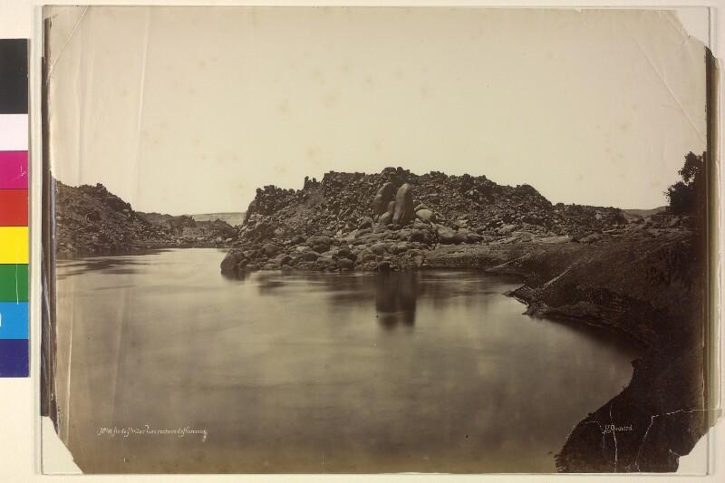 Felsen von Konossos bei der Insel Philae, Ägypten