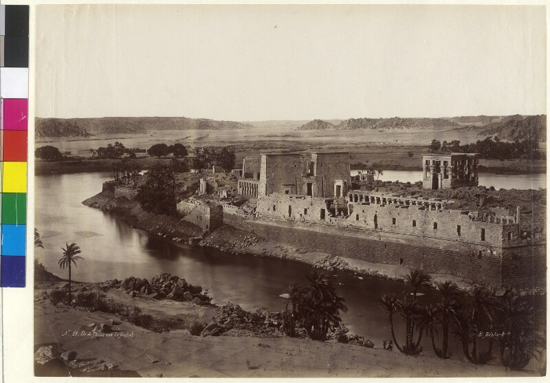 Insel Philae im Fluss Nil, Ägypten