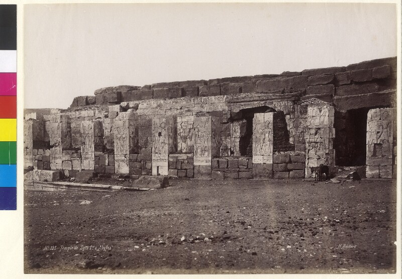 Totentempel von Sethos I. in Abydos, Ägypten