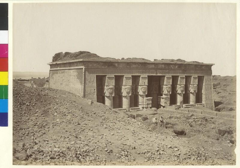Tempel von Dendera, Ägypten
