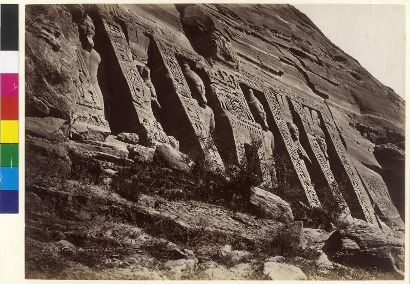 Hathor-Tempel der Nefertarii in Abu Simbel, Ägypten