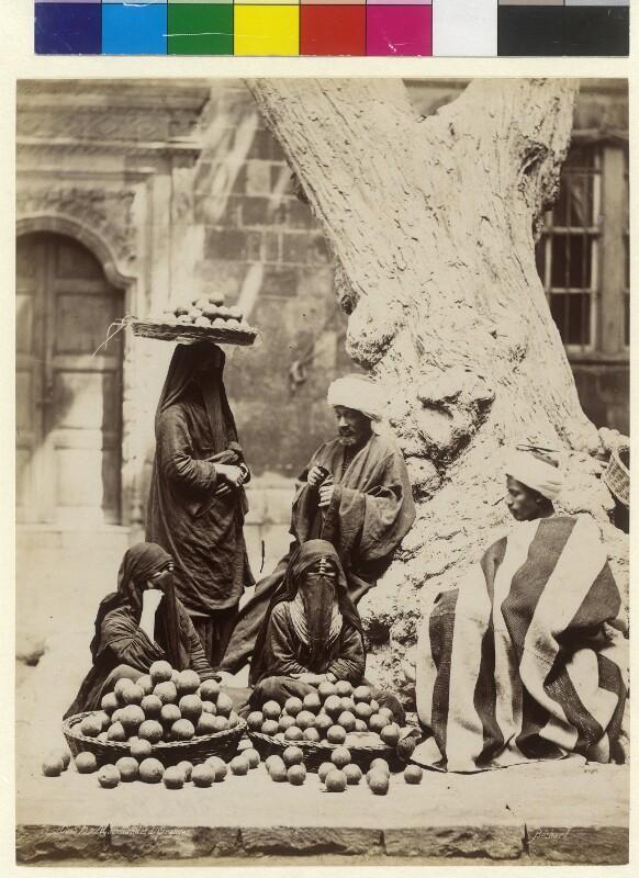 Orangenverkauf in Kairo, Ägypten