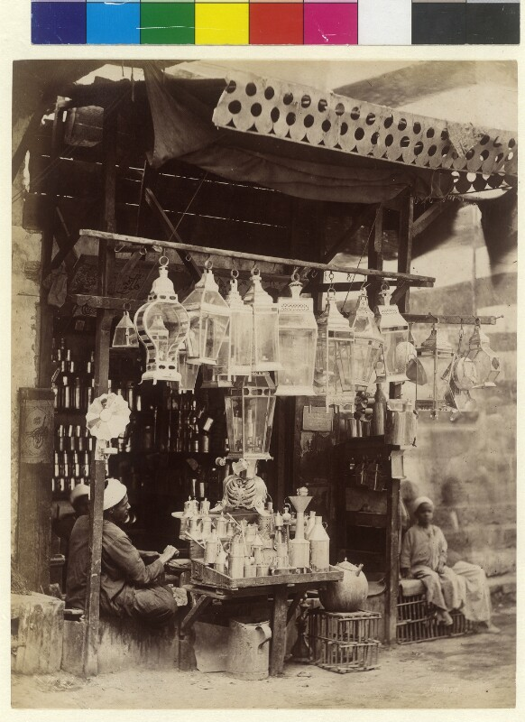 Eisenwarenhandel in K;airo, Ägypten