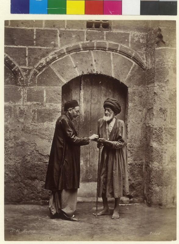 Bettler in Kairo, Ägypten