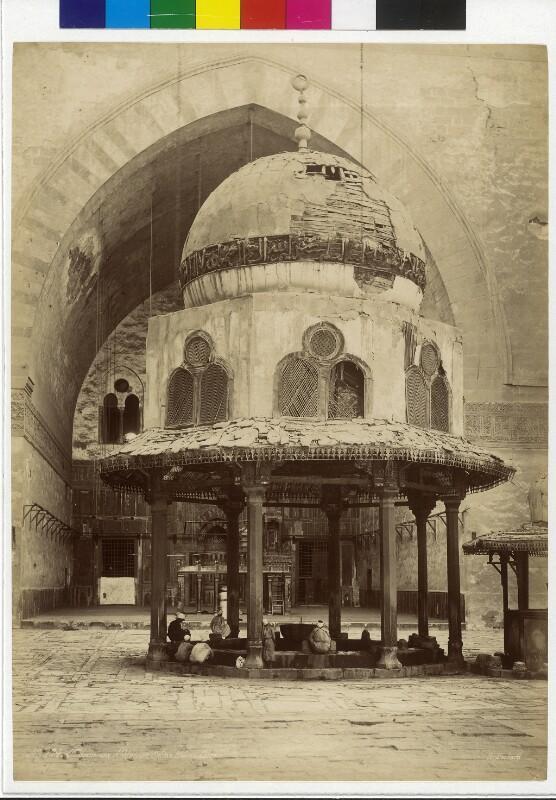 Brunnen in der Sultan-Hasan- Moschee in Kairo, Ägypten