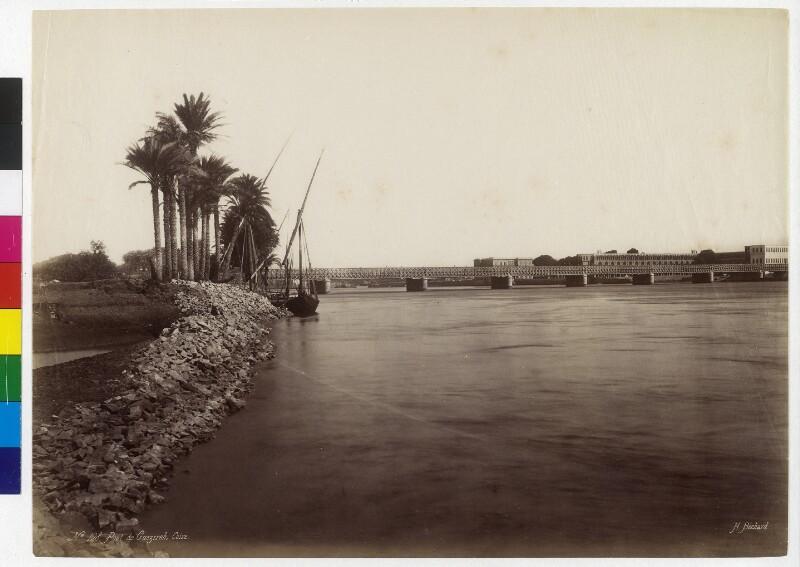 Khedive Ismail Brücke in Kairo, Ägypten