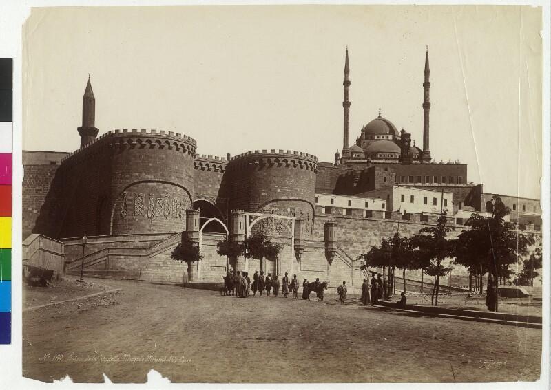 Eingang zur Zitadelle von Saladin in Kairo, Ägypten