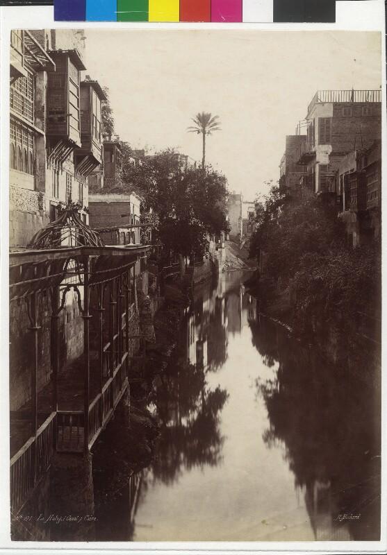 Khalig al-Misri Kanal in Kairo, Ägypten