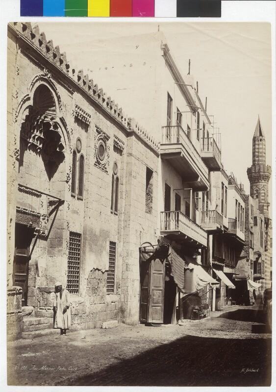 Rue Mansour Pacha in Kairo, Ägypten