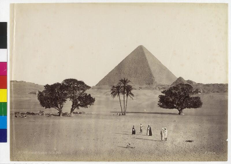 Cheops-Pyramide in Gizeh, Ägypten