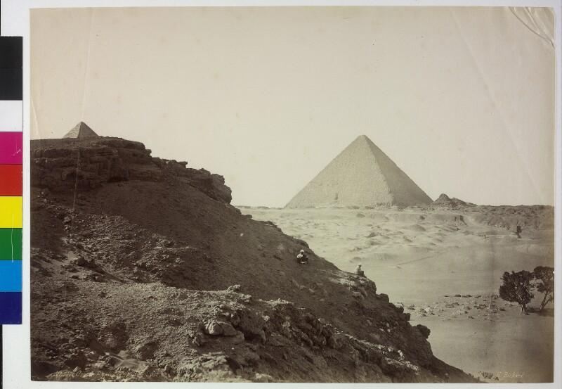 Cheopspyramide in Gizeh, Ägypten
