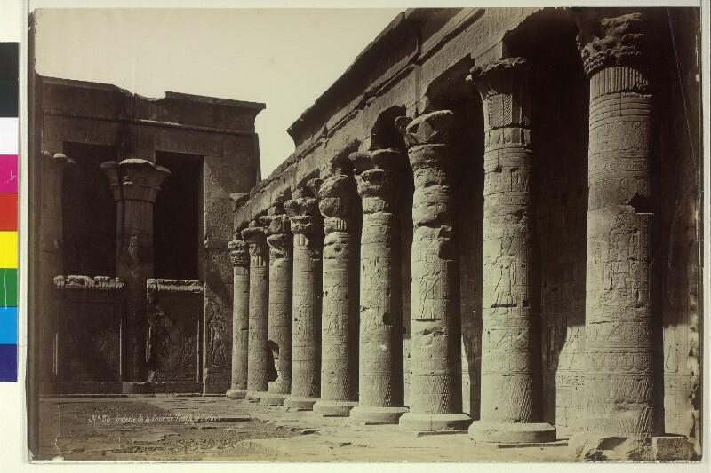 Tempel des Horus in Edfu, Ägypten