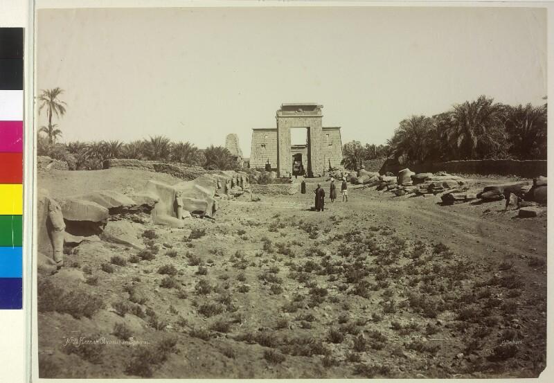 Sphingenallee in Karnak, Ägypten